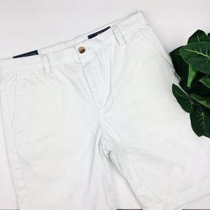 Vineyard Vines White Boys stretch breaker shorts
